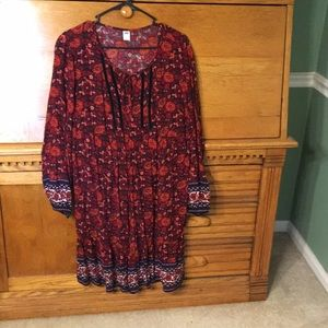 Old Navy long-sleeved dress